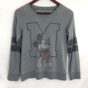Disney Parks Long Sleeve Mickey Mouse Tee, Small